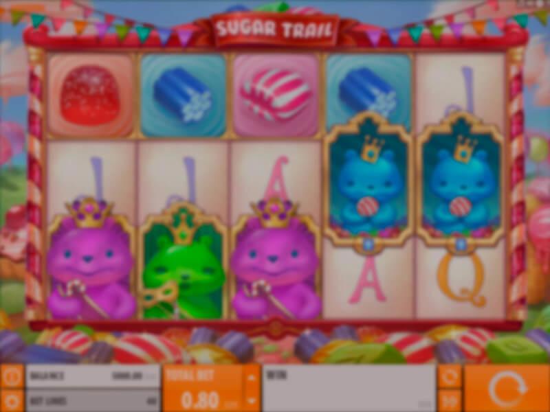 Sugar Trail Free Slots