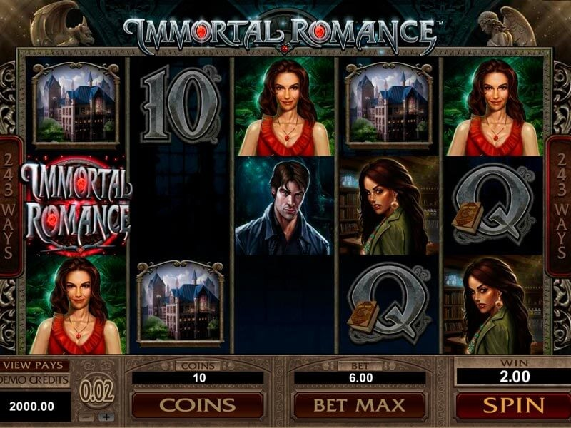 Immortal Romance Free Slots