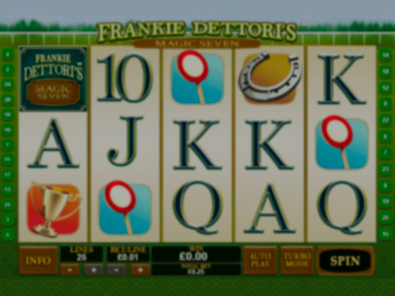 Frankie Dettoris Magic Seven Free Slots