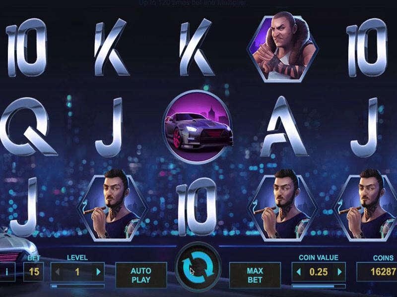 Drive Multiplier Mayhem Free Slots