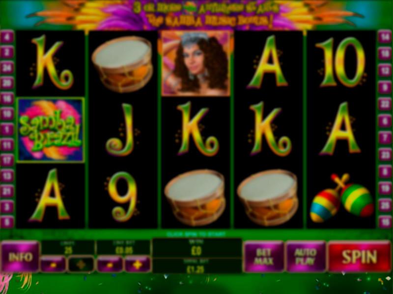 Samba Brazil Free Slots