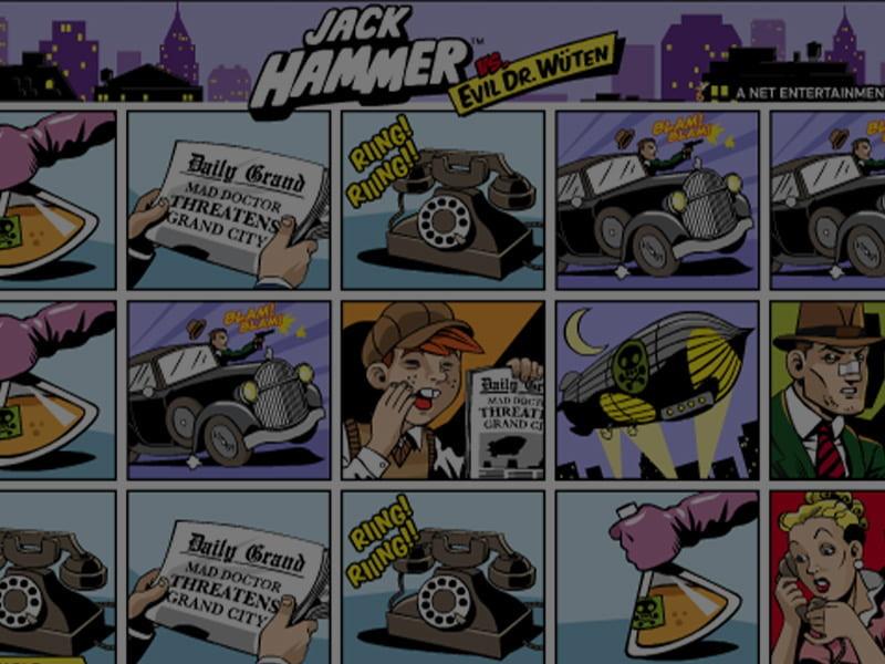 Jack Hammer Free Slots