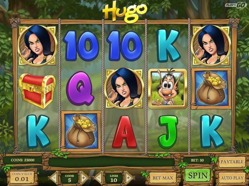 Hugo Free Slots