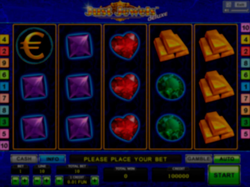 Just Jewels Deluxe Free Slots