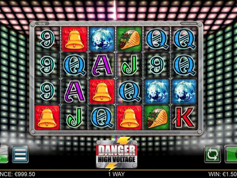 Danger High Voltage Free Slots