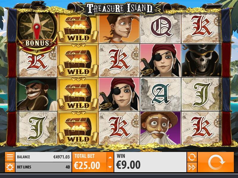 Treasure Island Free Slots
