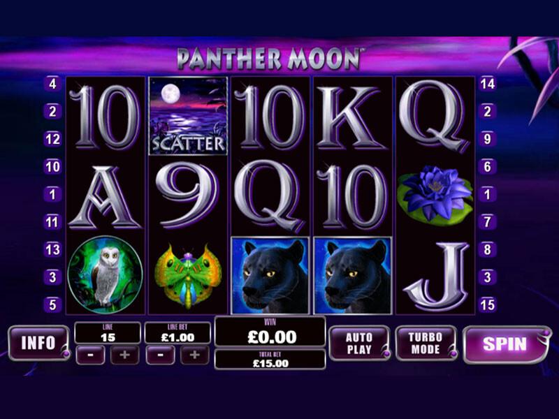 Panther Moon Free Slots
