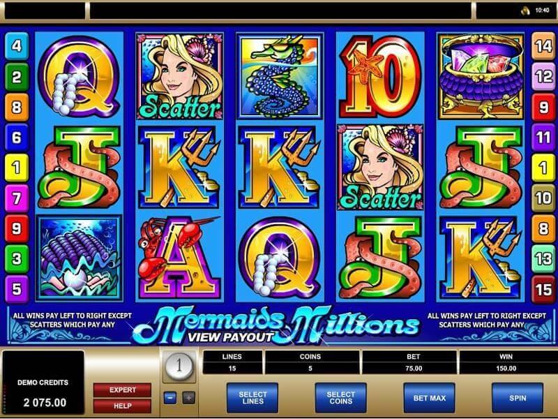 Mermaids Millions Free Slots