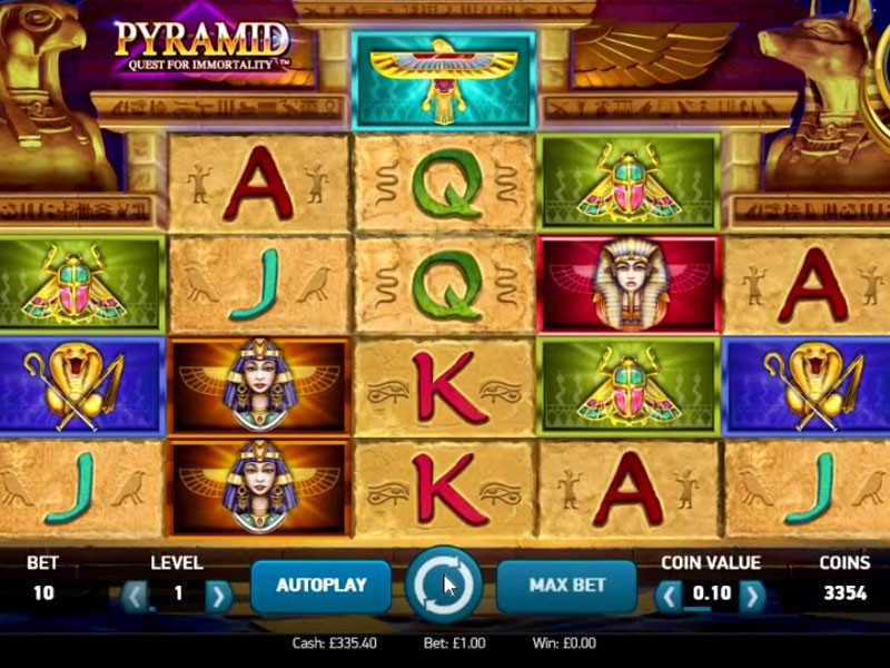 Pyramid Quest for Immortality Free Slots