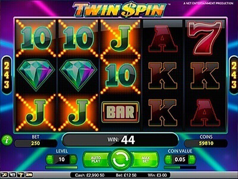 Twin Spin Free Slots