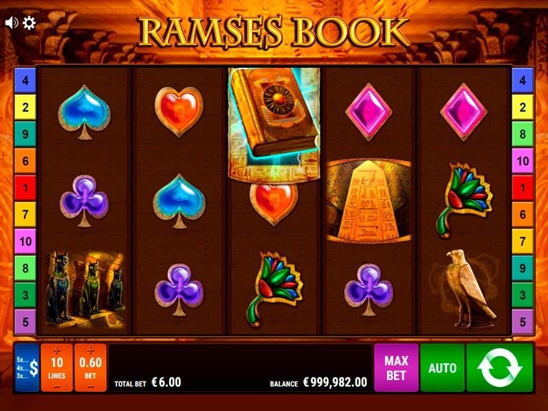 Ramses Book Free Slots