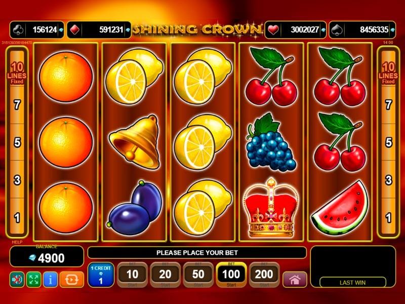 Shining Crown Free Slots