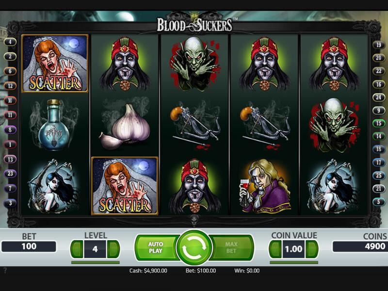 Blood Suckers Free Slots