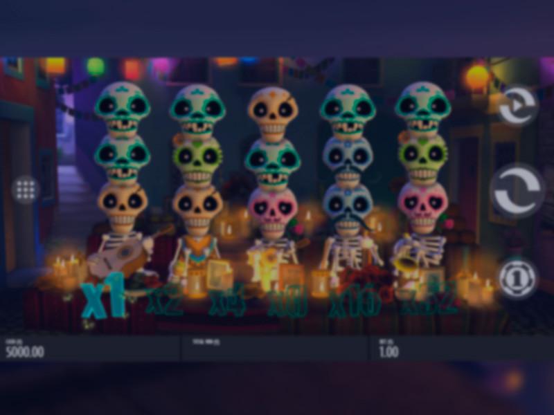 Esqueleto Explosivo Free Slots