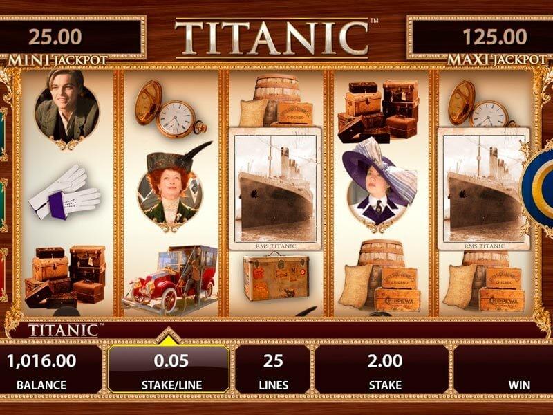 Titanic Free Slots