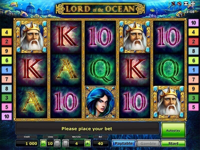 Lord of the Ocean Free Slots