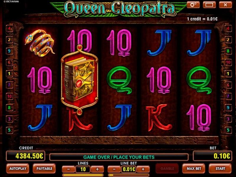Cleopatra Queen Free Slots