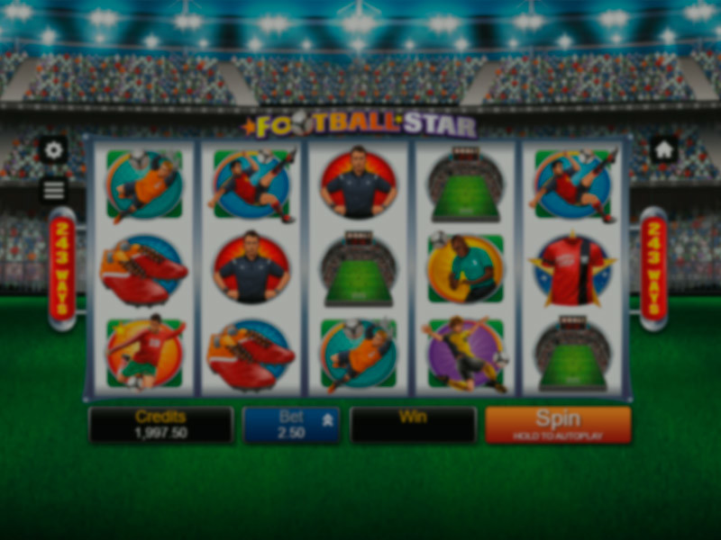 Football Star Free Slots