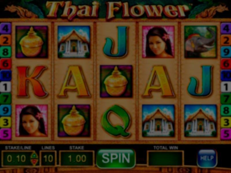 Thai Flower Free Slots