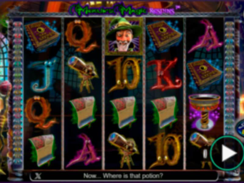Merlin Magic Respins Free Slots