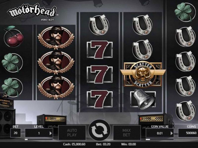 Motorhead Free Slots