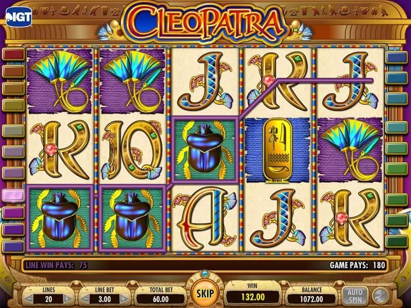 Cleopatra Free Slots