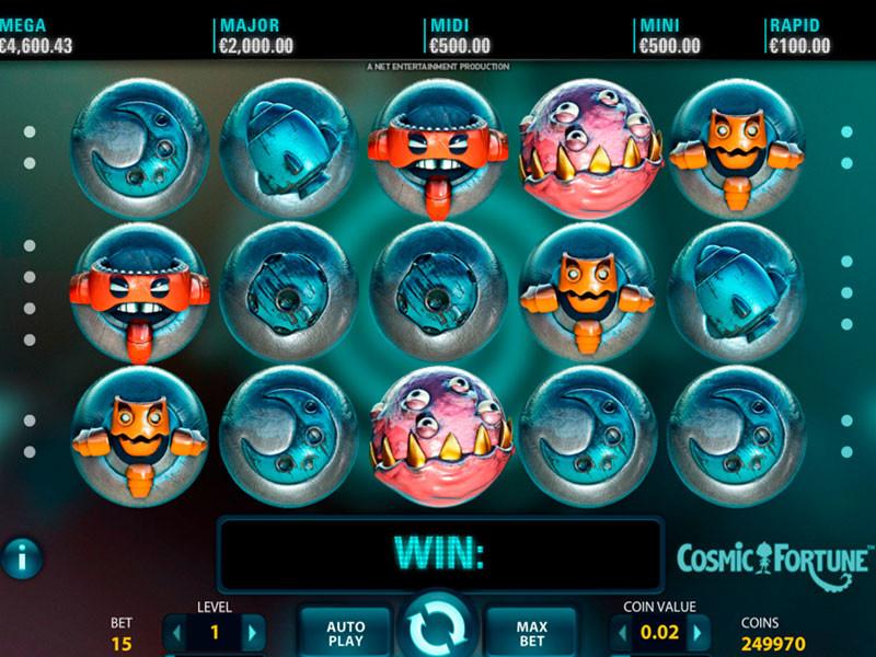 Cosmic Fortune Free Slots