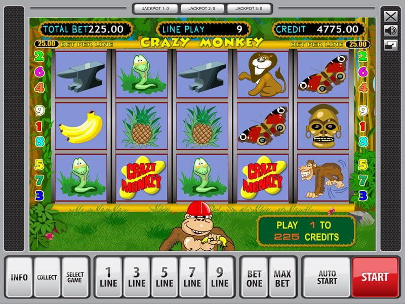 Crazy Monkey Free Slots