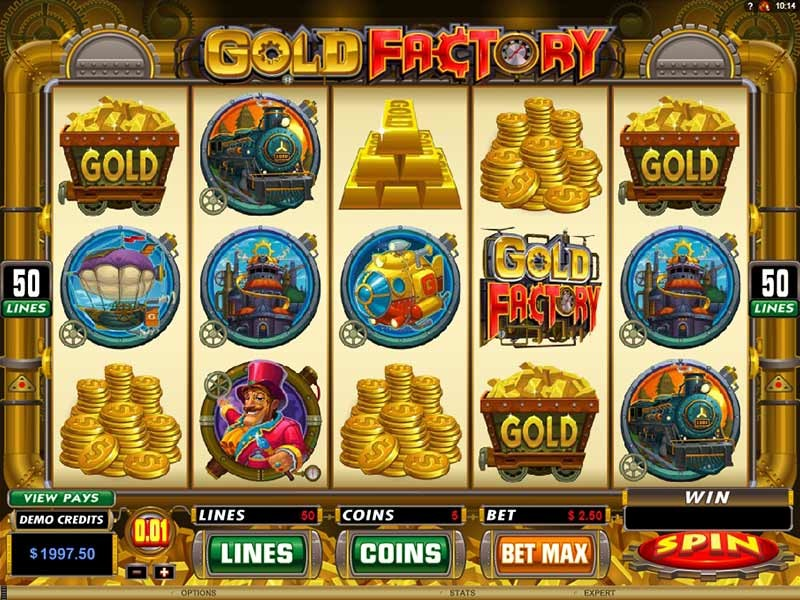 Gold Factory Free Slots